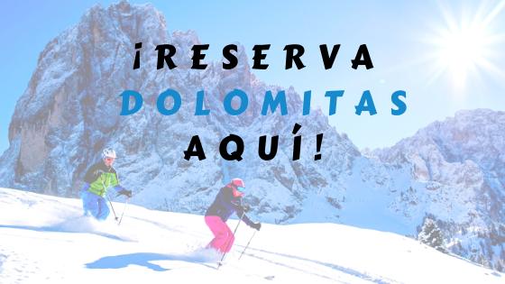 Reserva tu viaje a Dolomitas con nosotros. ¡Te lo organizamos todo!